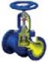 Вентиль запорный фланцевый с сильфонным уплотнением V234F